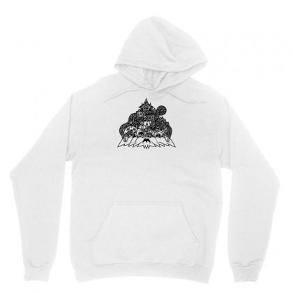 Ilumination Doodle Unisex Hoodie Designed By Specstore