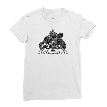 Ilumination Doodle Ladies Fitted T-shirt Designed By Specstore