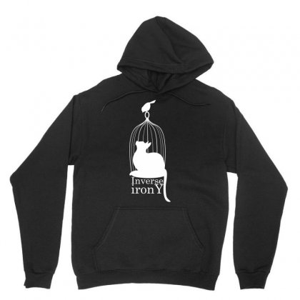 Inverse Irony Unisex Hoodie Designed By Specstore