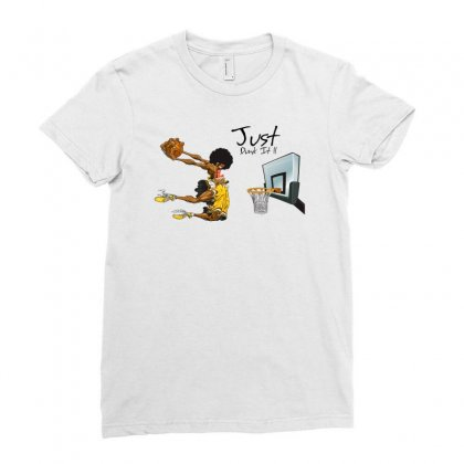 Just Dunk It Ladies Fitted T-shirt Designed By Specstore
