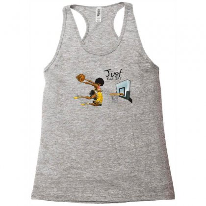 Just Dunk It Racerback Tank Designed By Specstore