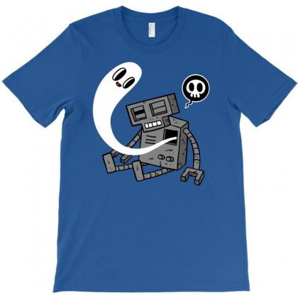 Dead Robot T-shirt Designed By Chilistore