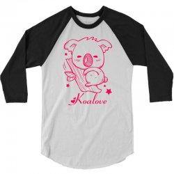 Koalove 3/4 Sleeve Shirt | Artistshot