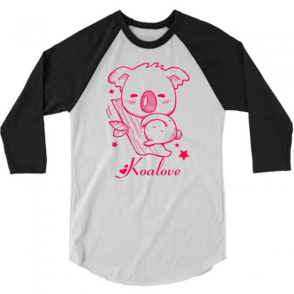 Koalove 3/4 Sleeve Shirt Designed By Specstore