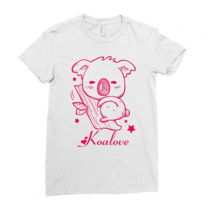 Koalove Ladies Fitted T-shirt Designed By Specstore