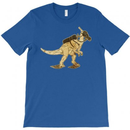 Dinomask Old Paper T-shirt Designed By Chilistore