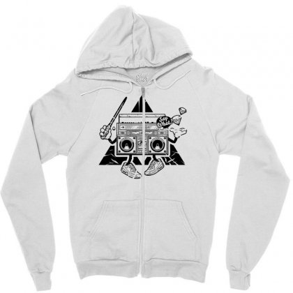 Mad Box Zipper Hoodie Designed By Specstore