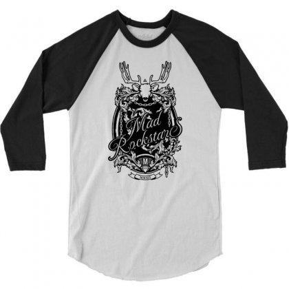 Mad Rockstar Myth 3/4 Sleeve Shirt Designed By Specstore