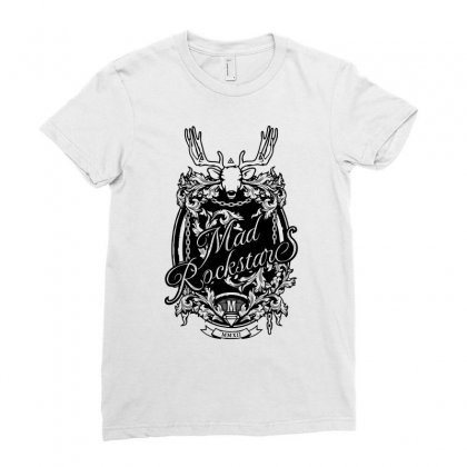Mad Rockstar Myth Ladies Fitted T-shirt Designed By Specstore