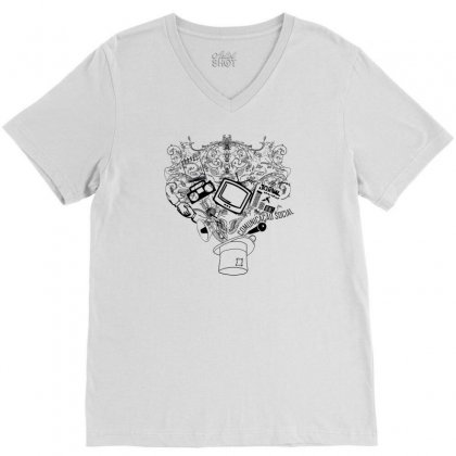 Magic Hat Of Social V-neck Tee Designed By Specstore