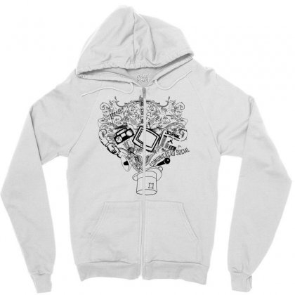Magic Hat Of Social Zipper Hoodie Designed By Specstore