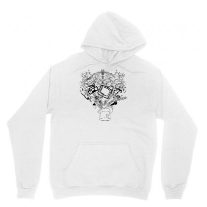Magic Hat Of Social Unisex Hoodie Designed By Specstore
