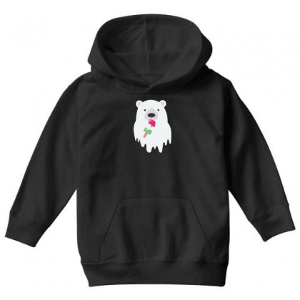 Melted Polar Cream Youth Hoodie Designed By Specstore