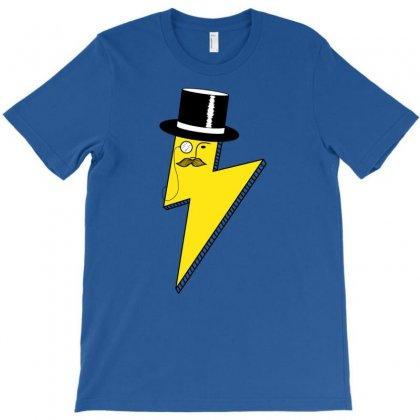 Gentleman Lightning Bolt T-shirt Designed By Chilistore