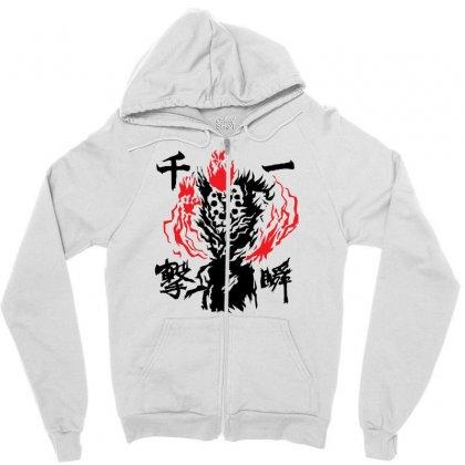 Raging Demon Zipper Hoodie Designed By Specstore