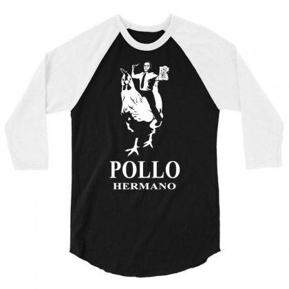 Pollo Hermano 3/4 Sleeve Shirt Designed By Thesamsat
