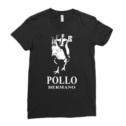 Pollo Hermano Ladies Fitted T-shirt Designed By Thesamsat