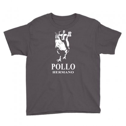 Pollo Hermano Youth Tee Designed By Thesamsat