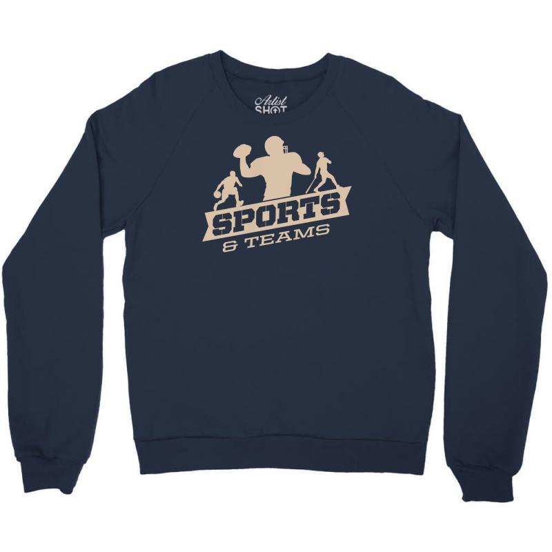 Sports And Teams Crewneck Sweatshirt | Artistshot