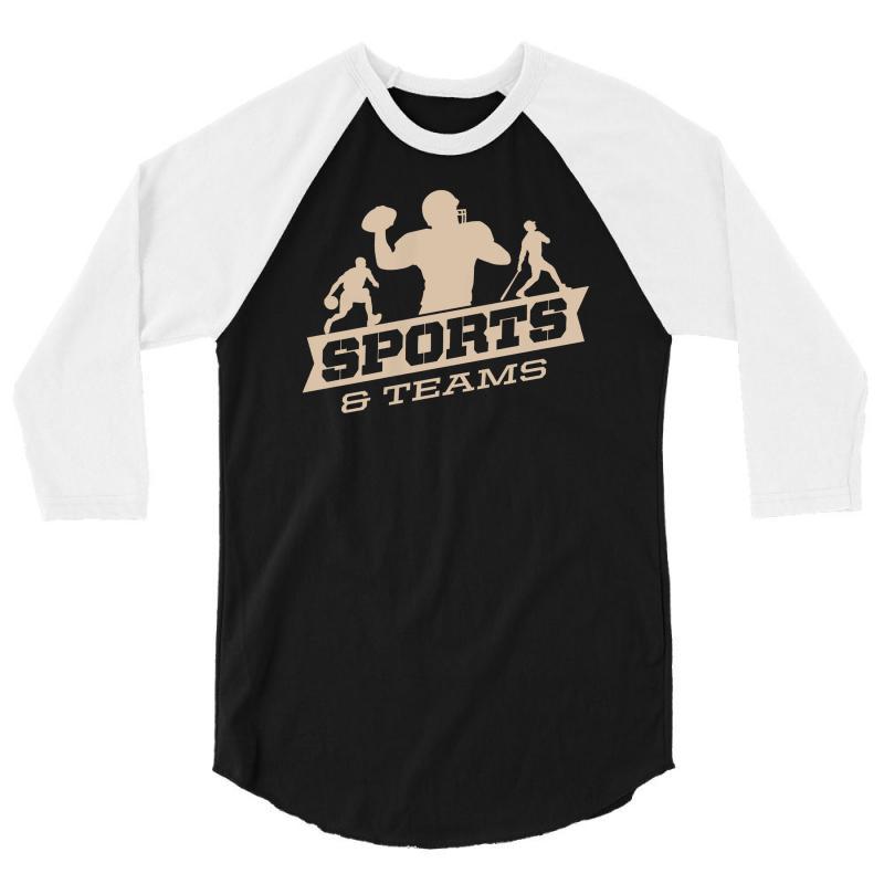 Sports And Teams 3/4 Sleeve Shirt   Artistshot