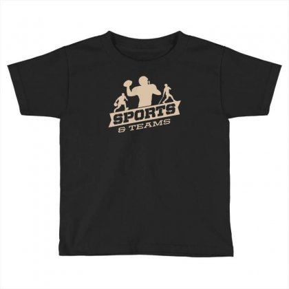 Sports And Teams Toddler T-shirt Designed By Buckstore