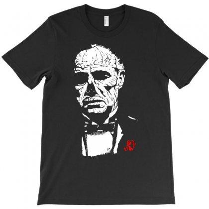 Zombie Brando The Zomfather T-shirt Designed By Thesamsat
