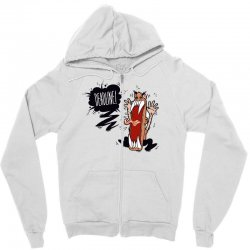 Angry Boss Screaming Deadline Zipper Hoodie | Artistshot