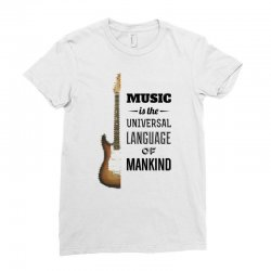 music quotes Ladies Fitted T-Shirt | Artistshot