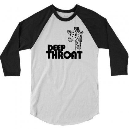 Deep Throat 3/4 Sleeve Shirt Designed By Ditreamx