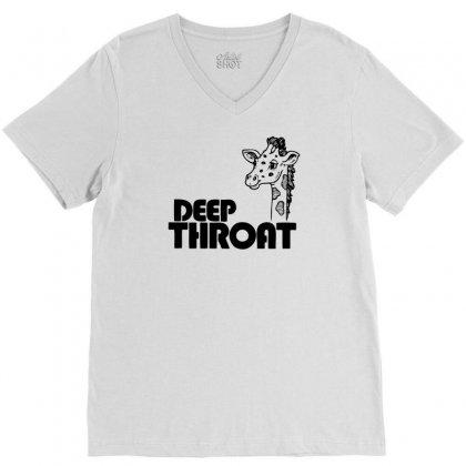 Deep Throat V-neck Tee Designed By Ditreamx