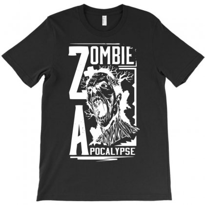 Zombie To Apocalypse T-shirt Designed By Ditreamx