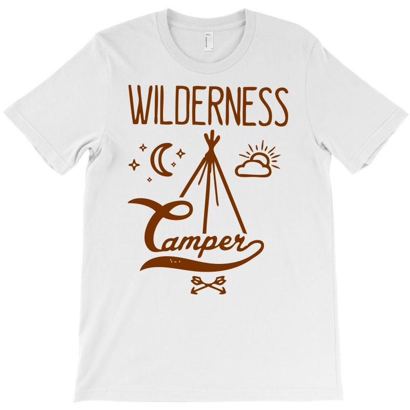 Wilderness Camper T-shirt | Artistshot