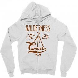 wilderness camper Zipper Hoodie | Artistshot
