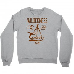 wilderness camper Crewneck Sweatshirt | Artistshot