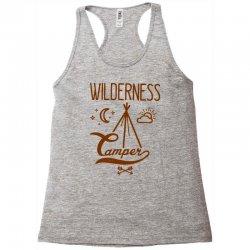 wilderness camper Racerback Tank | Artistshot