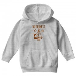 wilderness camper Youth Hoodie | Artistshot