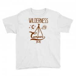 wilderness camper Youth Tee | Artistshot