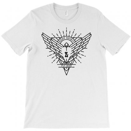 Keep Spirit Fly High T-shirt Designed By Ditreamx
