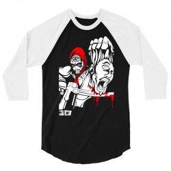 Red Murder 3/4 Sleeve Shirt | Artistshot