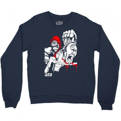 Red Murder Crewneck Sweatshirt Designed By Specstore
