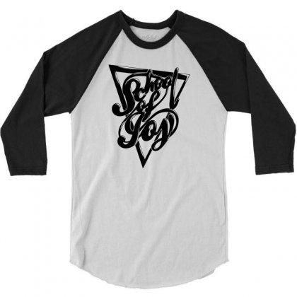Schoo Lof Joy 3/4 Sleeve Shirt Designed By Specstore
