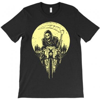 Grim Racer T-shirt Designed By Ditreamx