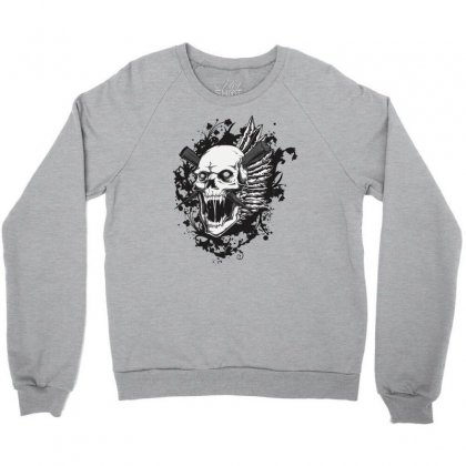 Sealed Vampire Skull Crewneck Sweatshirt Designed By Specstore