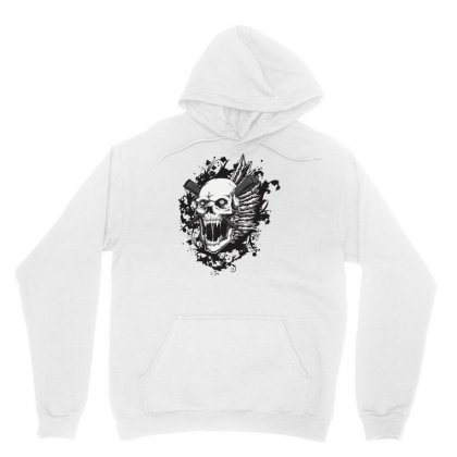 Sealed Vampire Skull Unisex Hoodie Designed By Specstore