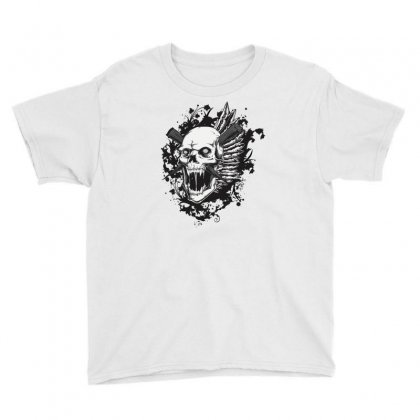 Sealed Vampire Skull Youth Tee Designed By Specstore