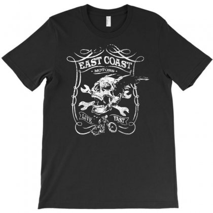 East Coast Motor T-shirt Designed By Ditreamx