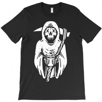Coffee Reaper T-shirt Designed By Ditreamx