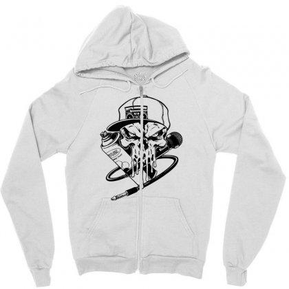 Skull Artis Zipper Hoodie Designed By Specstore