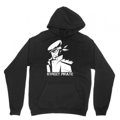 Street Pirate Unisex Hoodie Designed By Specstore
