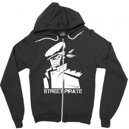 Street Pirate Zipper Hoodie Designed By Specstore
